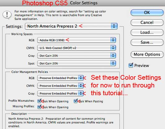Assign Versus Convert to Profile Photoshop Color Management